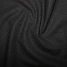 100% Cotton Black Plain Dyed Fabric 44